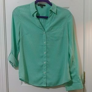 OUTBACK RED Green Teal Shirt